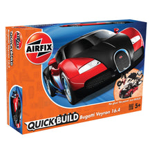 Load image into Gallery viewer, QUICKBUILD Bugatti 16.4 Veyron black/red - J6020 -Available