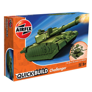 QUICKBUILD Challenger Tank Green - J6022 -Available
