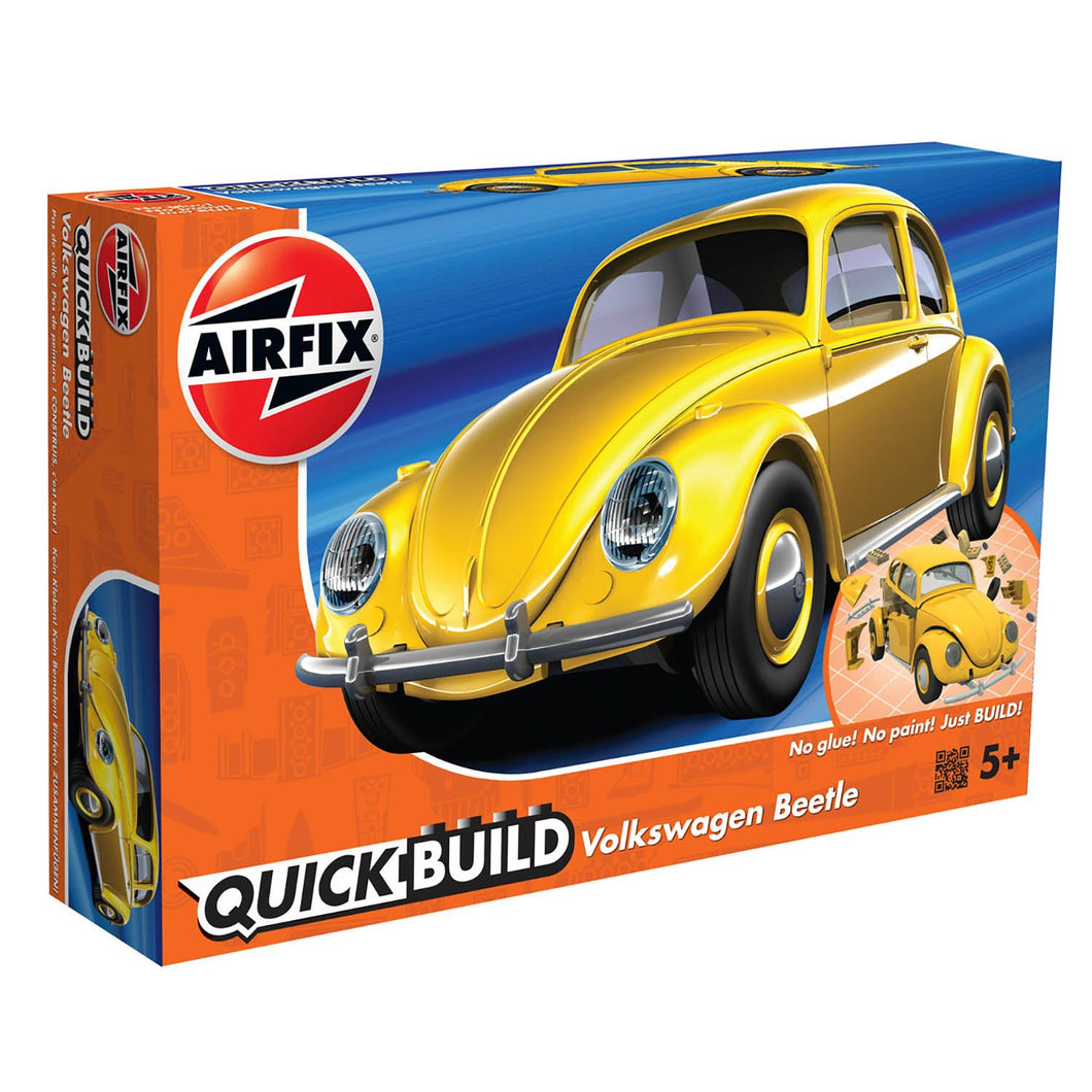 QUICKBUILD VW Beetle - Yellow - J6023 -Available