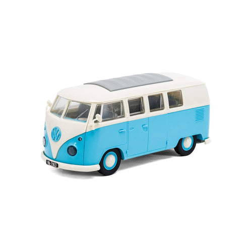 QUICKBUILD VW Camper Van - Blue - J6024 -Available
