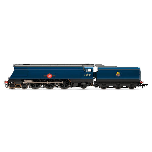 BR, Merchant Navy Class, 4-6-2, 35024 ?East Asiatic Company? - Era 4 - R3632 -PRE ORDER - (from 2020 range)
