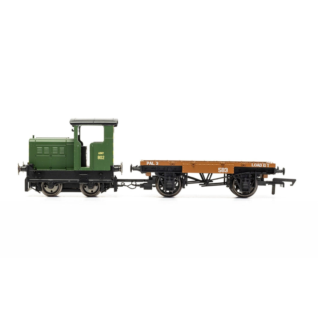 War Department R&H 48DS 0-4-0 'Army 802' - Era 4/5 - R3706 -LOW STOCK