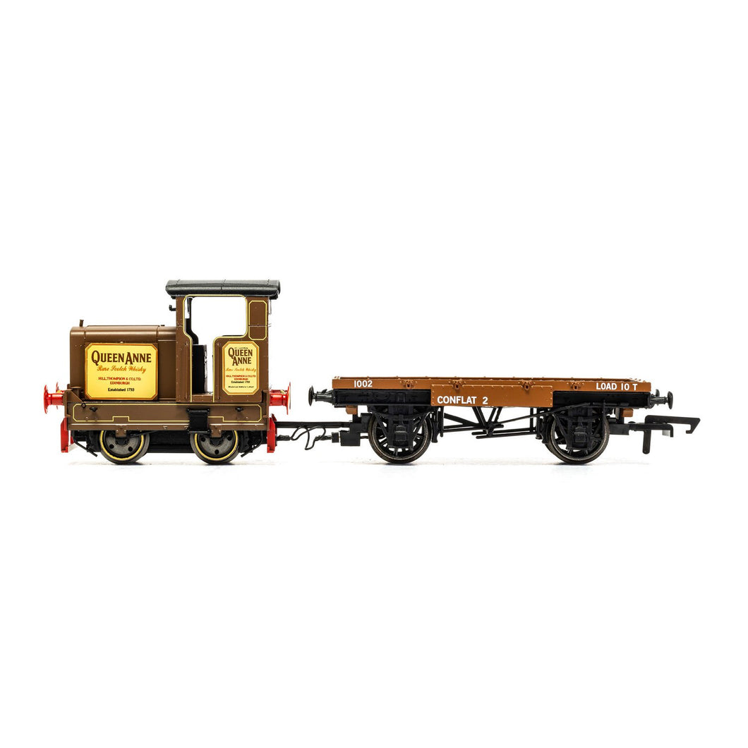 Longmorn Distillery R&H 48DS 0-4-0 'Queen Anne' - Era 7 - R3707 -LOW STOCK