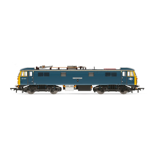 BR, Class 87, Bo-Bo, 87001 (dual named) 'Royal Scot' and 'Stephenson' - Era 11 - R3739 -Available
