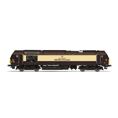 DB Cargo UK, Class 67, Bo-Bo, 67024 'Belmond British Pullman' - Era 11 - R3774 -Available
