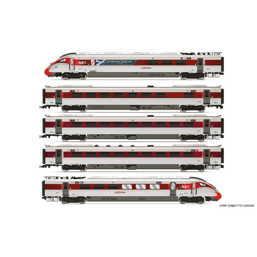 LNER, Hitachi Class 800/1, 'Azuma' Set 800 104 'Celebrating Scotland' Train Pack - Era 11 - R3827 -PRE ORDER - (from 2020 range)