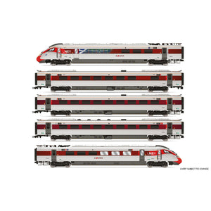 LNER, Hitachi Class 800/1, 'Azuma' Set 800 104 'Celebrating Scotland' Train Pack - Era 11 - R3827 -PRE ORDER Oct-20