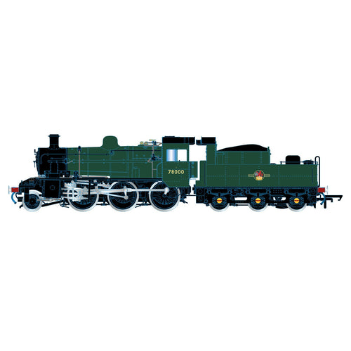BR, Standard 2MT, 2-6-0, 78000 - Era 5 - R3839 -PRE ORDER - (from 2020 range) Jan-21