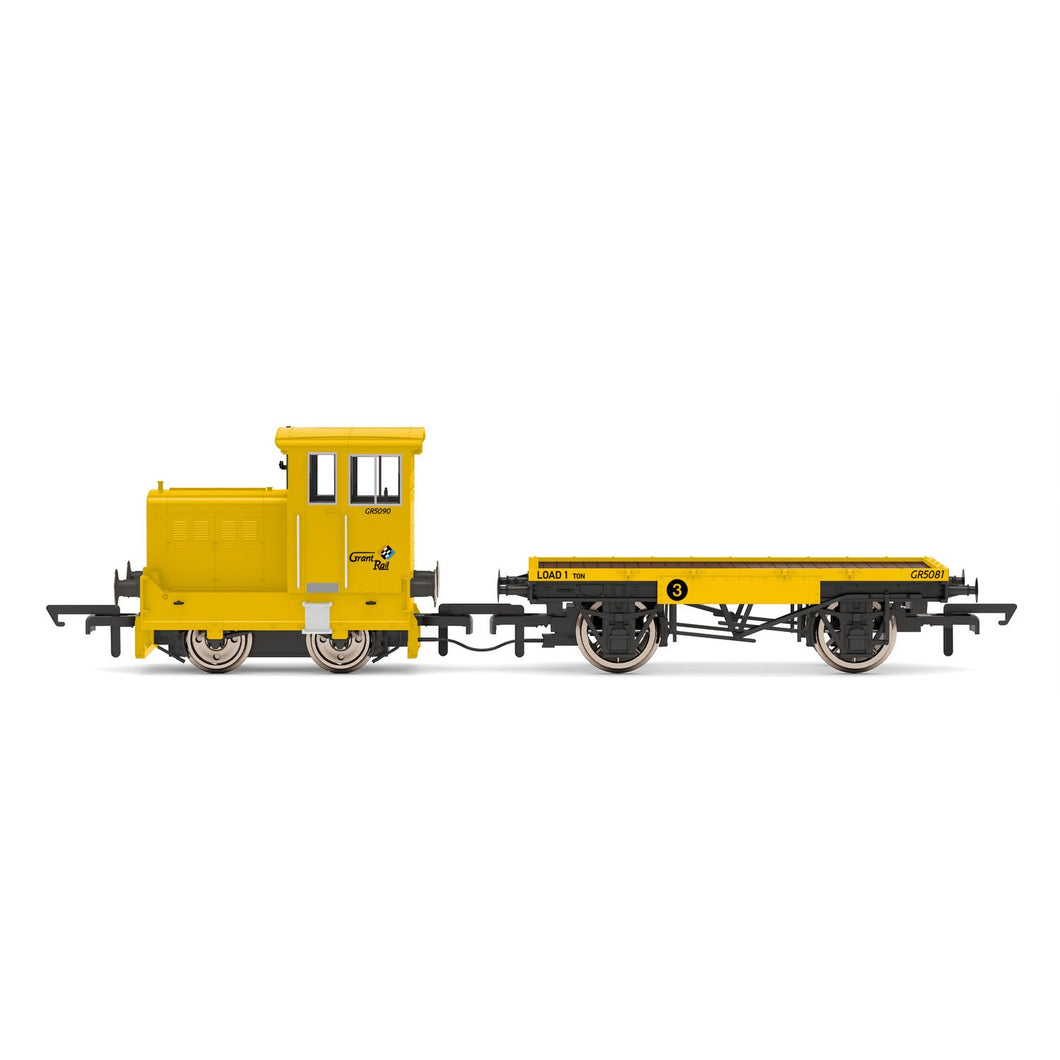 GrantRail Ltd, Ruston & Hornsby 48DS, 0-4-0, GR5090 - Era 9 - R3853 -PRE ORDER - (from 2020 range) Feb-21