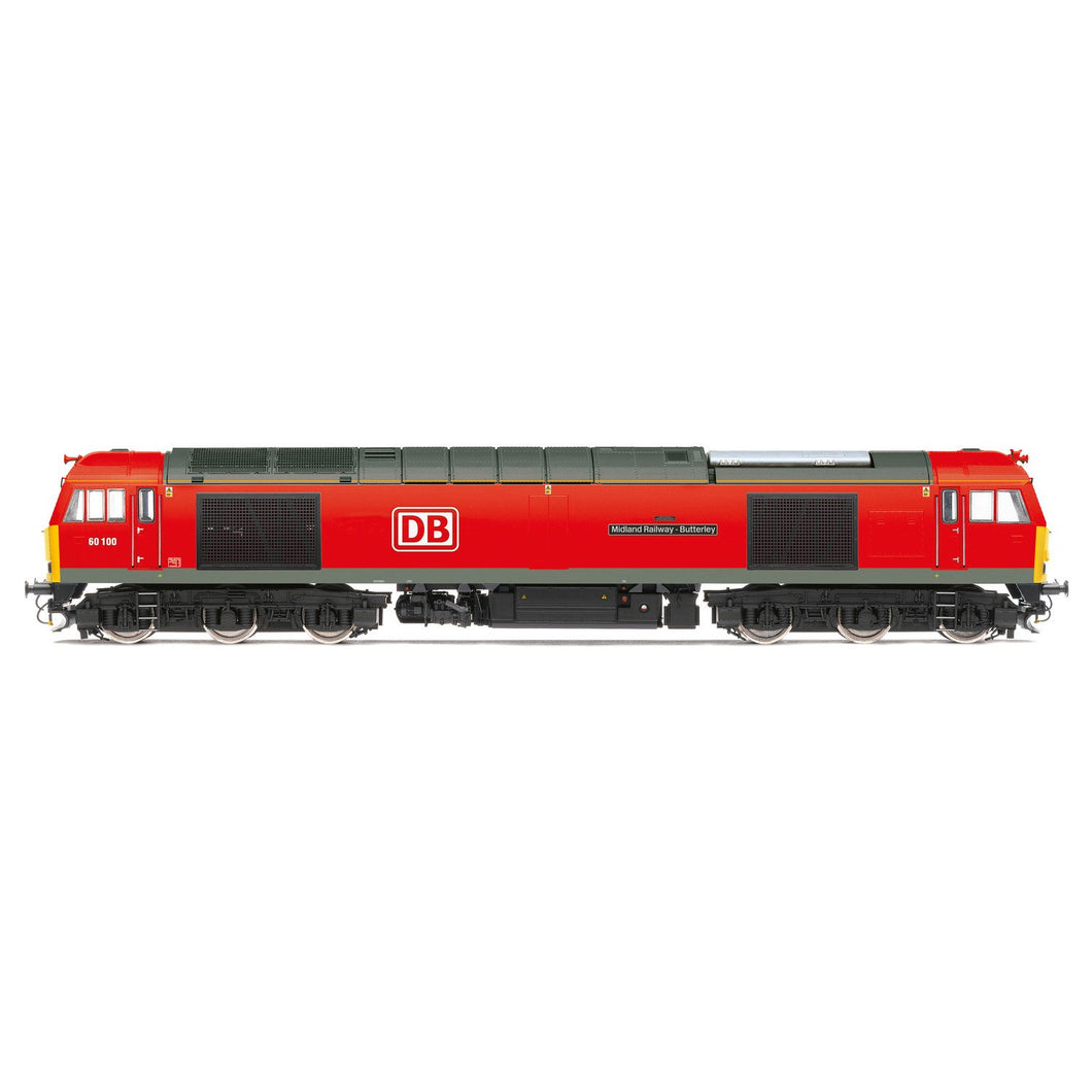 DB Cargo UK, Class 60, Co-Co, 60100 'Midland Railway - Butterley' - Era 11 - R3884 -PRE ORDER Jul-20