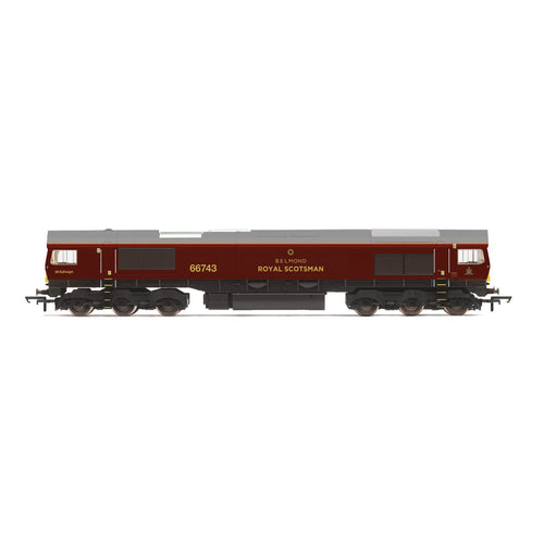 GBRf/Belmond Royal Scotsman, Class 66, Co-Co, 66743 ? Era 11 - R3950 -PRE ORDER - (from 2020 range)