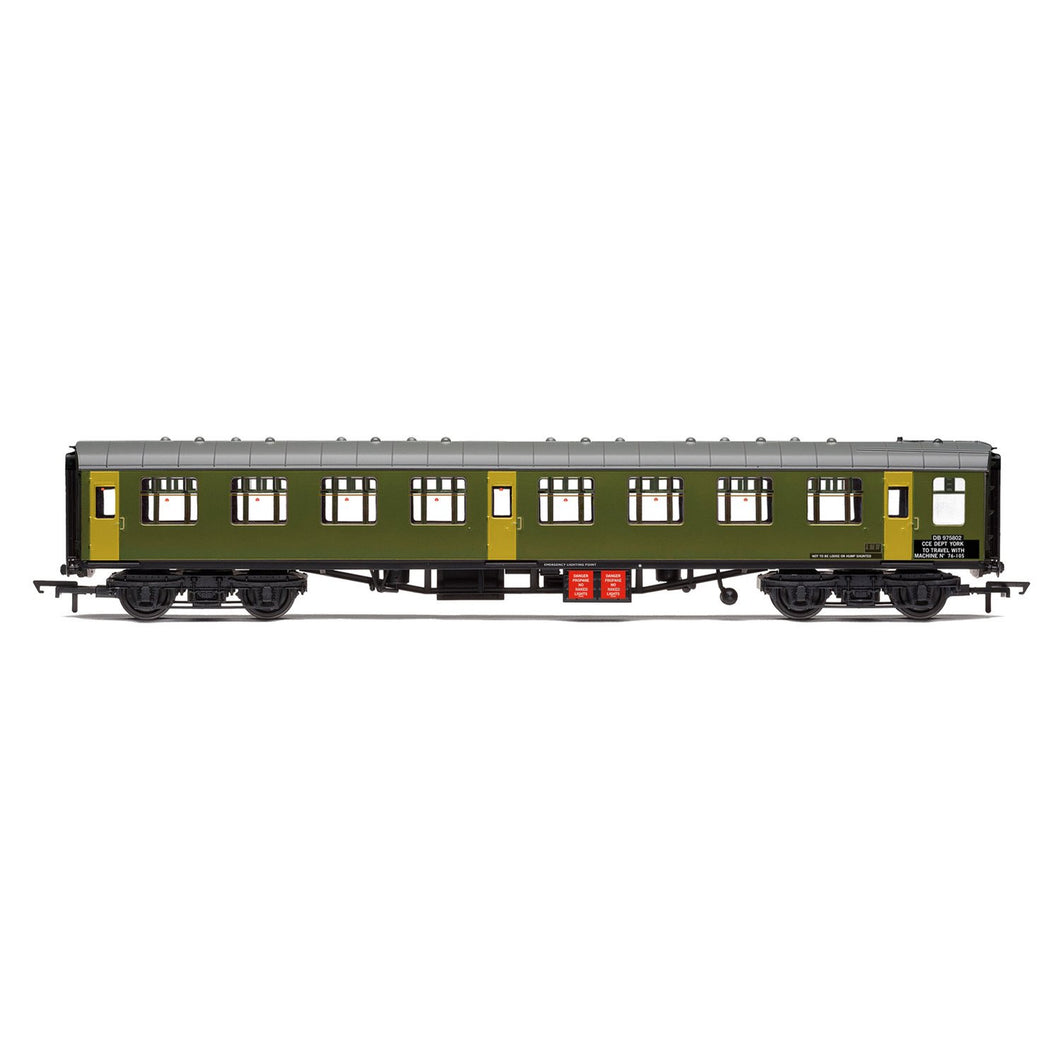 BR Departmental, ex-Mk1 SK Ballast Cleaner Train Staff Coach, DB 975802 - Era 7 - R40007 -PRE ORDER - (from 2020 range)