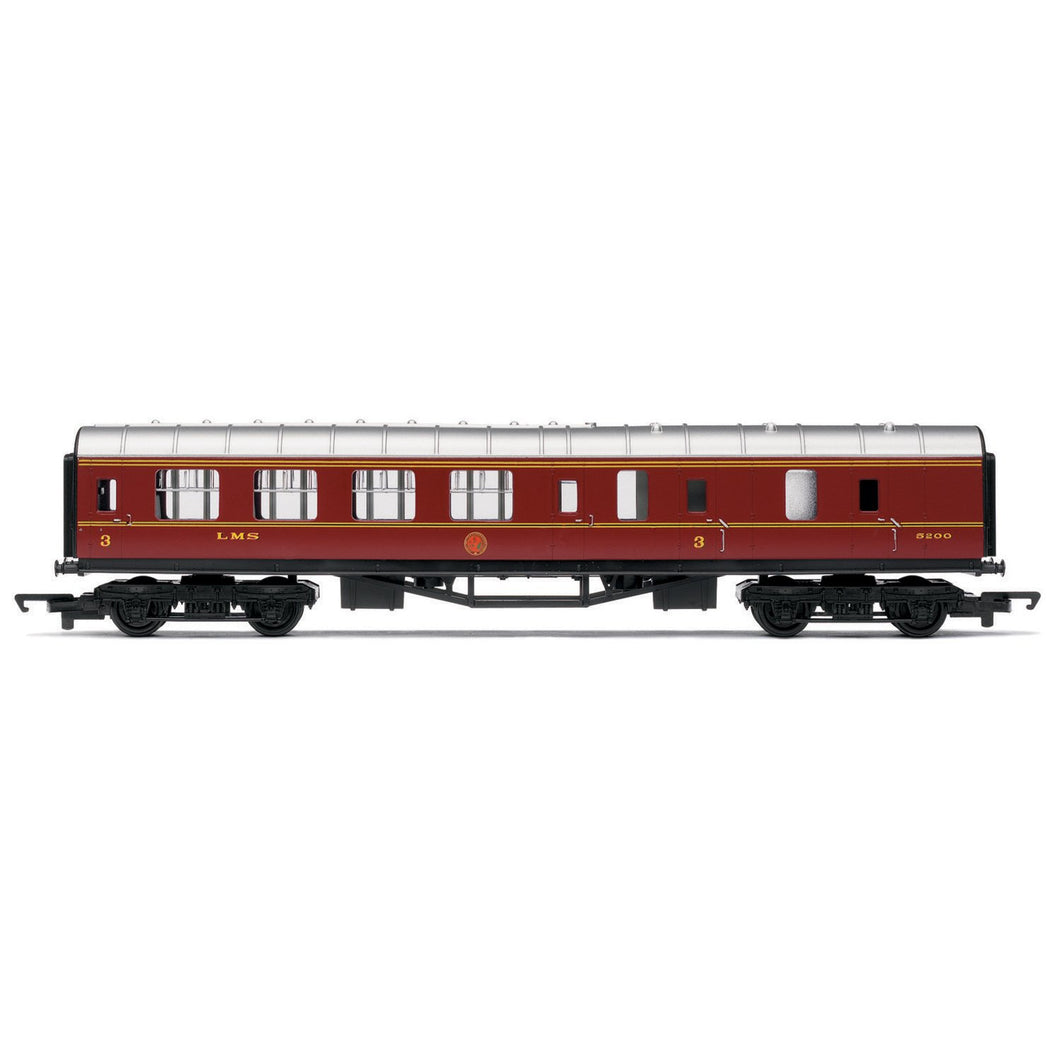 LMS, Brake Third Coach - Era 3 - R4389 -Available