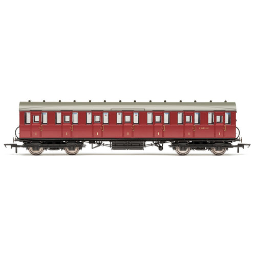BR, 51' Gresley Non-Vestibuled Suburban First, E81032E- Era 5 - R4519B -Available
