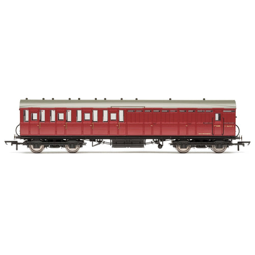 BR, 51' Gresley Non-Vestibuled Suburban Brake Third, E86109E- Era 5 - R4522C -Available