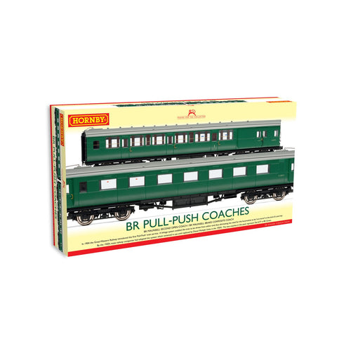BR, (Ex-Maunsell) Pull/Push Coach Pack, Set 619 - Era 5 - R4534D -Available