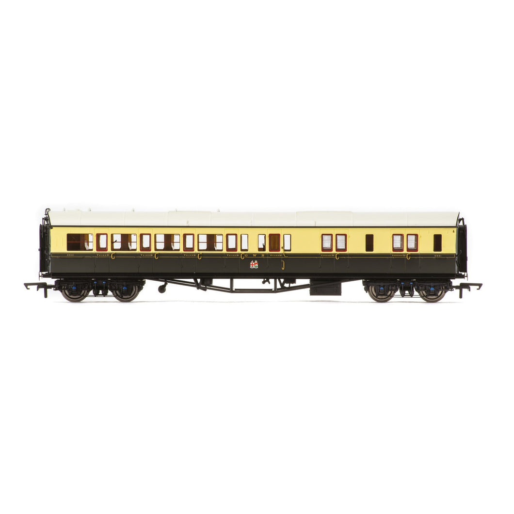GWR, Collett 'Bow Ended' Corridor Brake Third (R/H), 4941 - Era 3 - R4680A -Available