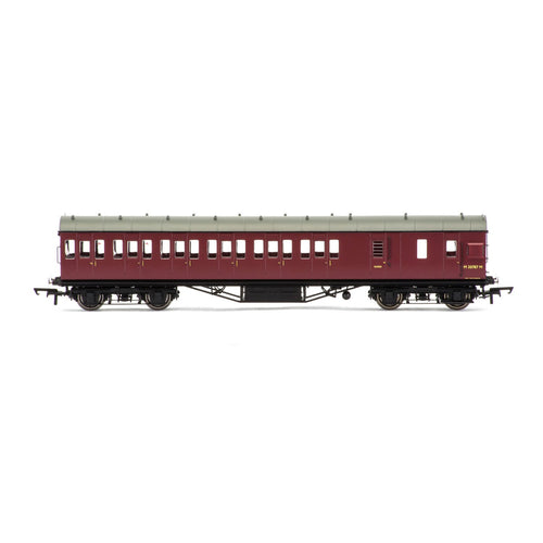 BR, 57' Stanier Non-Corridor Brake Third, M20787M - Era 5 - R4691 -Available