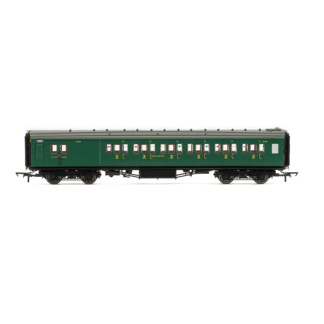 SR, Maunsell Corridor Brake Third Class, 3798 'Set 328' - Era 3 - R4737 -Available