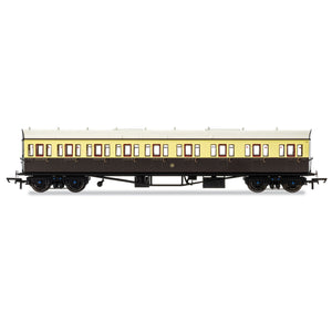 GWR, Collett 57' Bow Ended E131 Nine Compartment Composite (Right Hand), 6362 - Era 3 - R4875 -Available