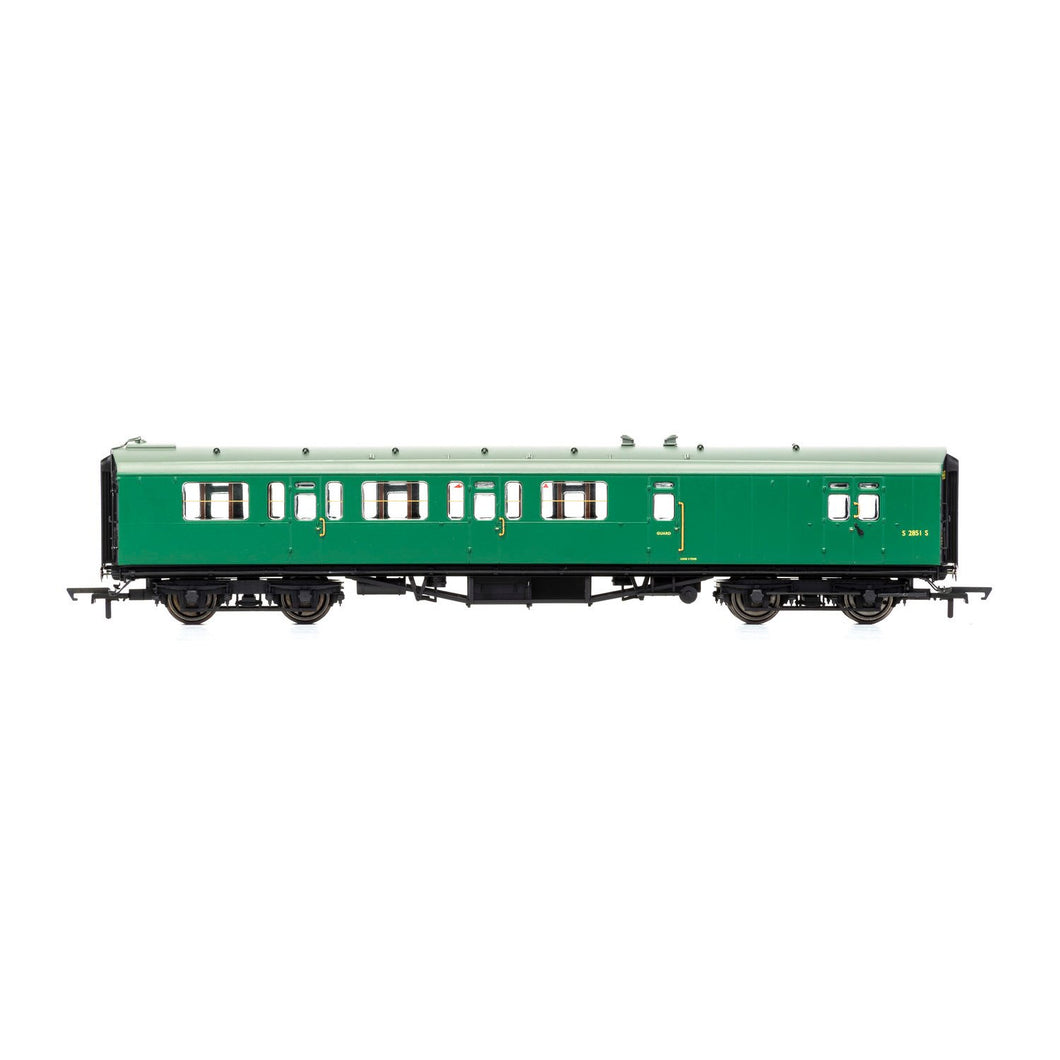 BR, Bulleid 59' Corridor Brake Third, S2851S - Era 4 - R4888 -Available