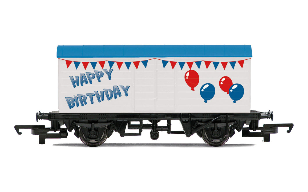 Hornby Birthday Wagon  - R60058 - PRE ORDER - New For 2021 Estimated 01-08-21