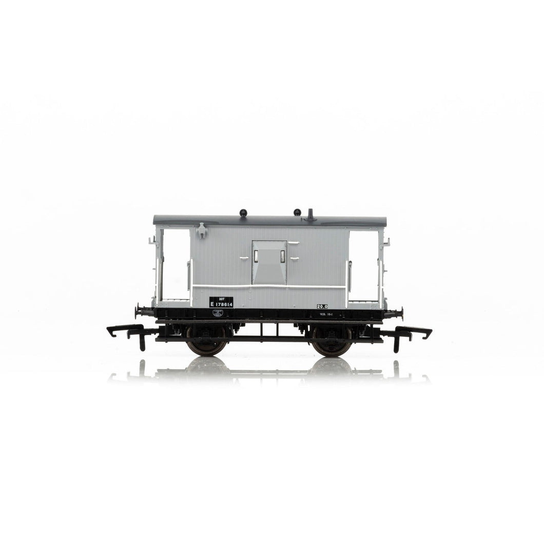 BR, Dia.064 'Toad E' 20T Brake Van E178614 - Era 4 - R6834A -Available