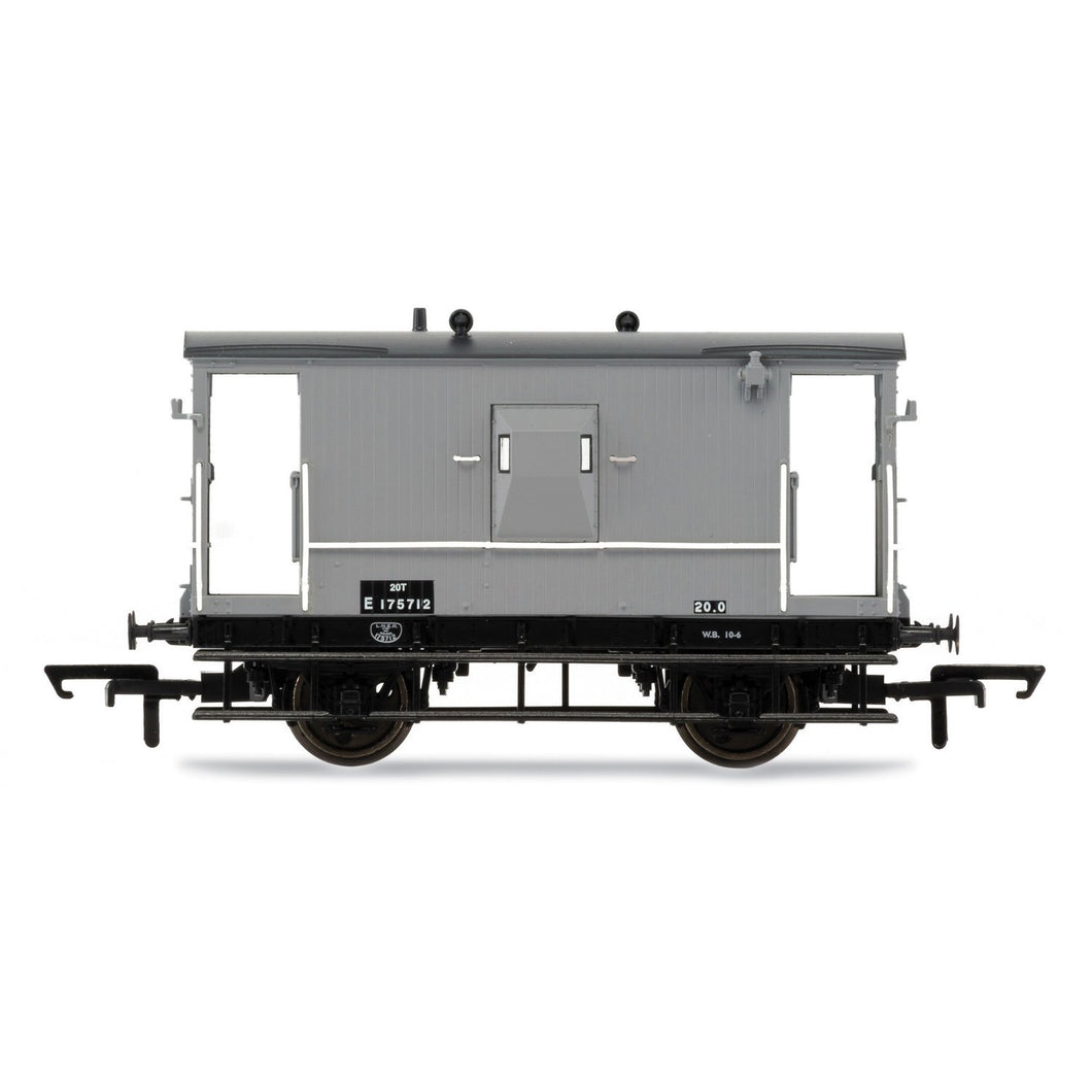 BR, Dia.064 'Toad E' 20T Brake Van E175712 - Era 4 - R6834 -Available