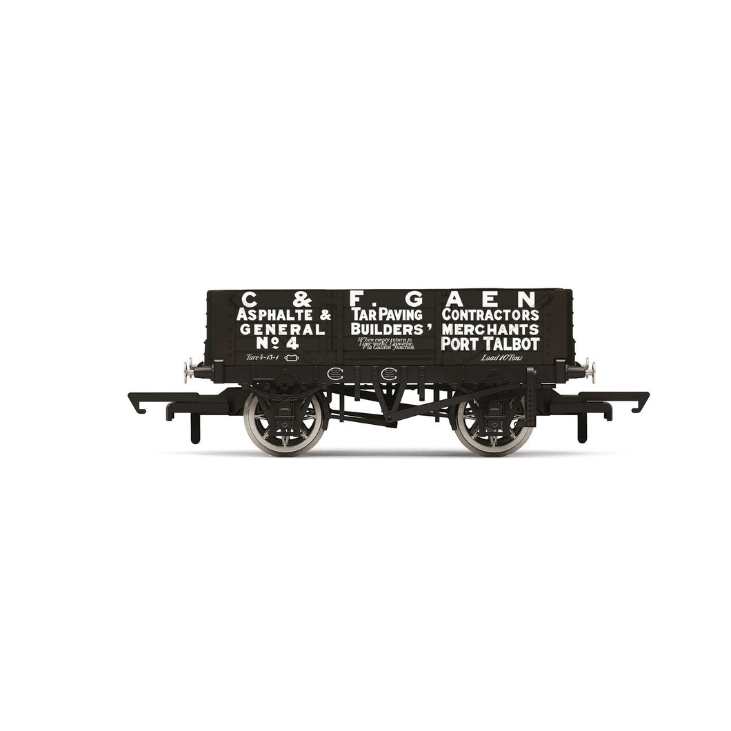 4 Plank Wagon, 'C&F Gaen' No. 4 - Era 2 - R6900 -Available