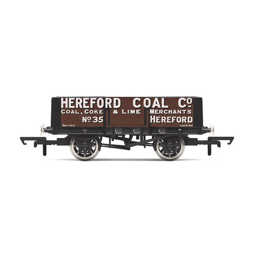 5 Plank Wagon, 'Hereford Coal Company' No. 35 - Era 2 - R6901 -Available