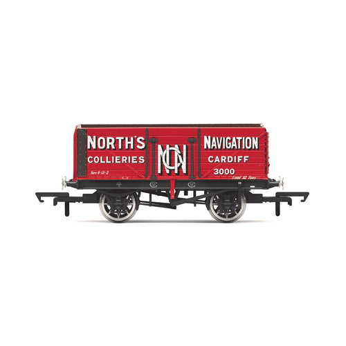 7 Plank Wagon, 'North's Navigation' No. 3000  - Era 2 - R6904 -Available