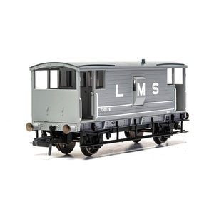 LMS, D1919 20T Brake Van, 730176 - Era 3 - R6907 -Available
