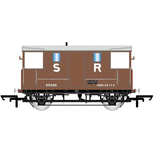 SR, 24T Diag. 1543 Goods Brake Van, 55009 - Era 3 - R6913A -Available