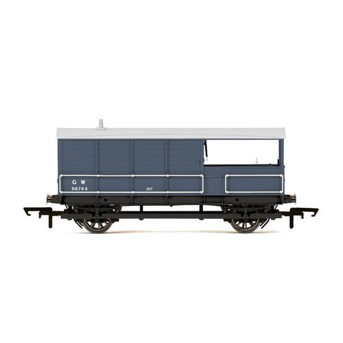 GWR, AA15 20T 'Toad' Goods Brake Van, 56705 - Era 3 - R6921 -Available
