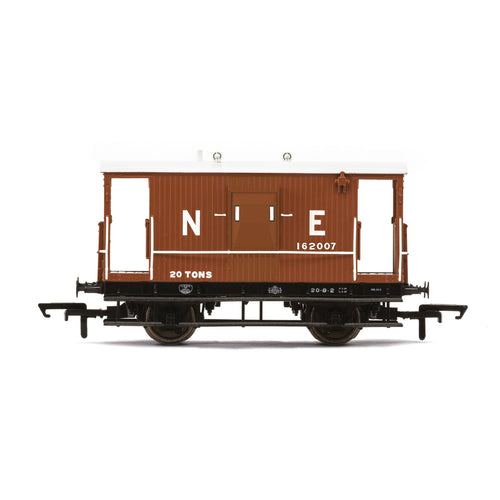 LNER, Dia.064 'Toad E' Brake Van, 162007 - Era 3 - R6923 -Available