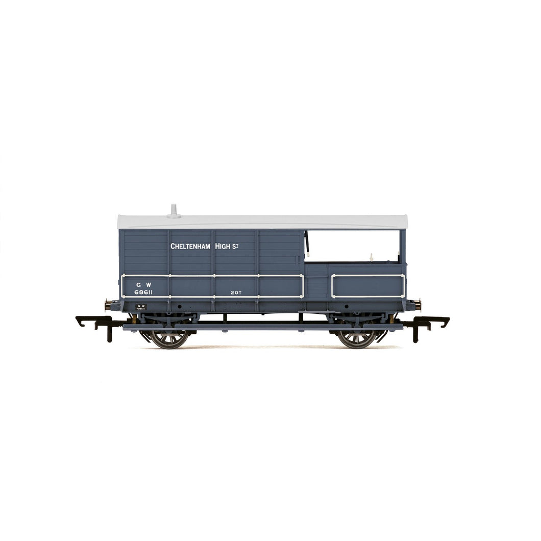 GWR, AA15 20T 'Toad' Brake Van, 68611 - Era 3 - R6940 -PRE ORDER Aug-20