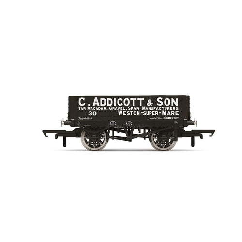 C. Addicott & Son, 4 Plank Wagon, No. 30 - Era 2/3 - R6945 -PRE ORDER - (from 2020 range)