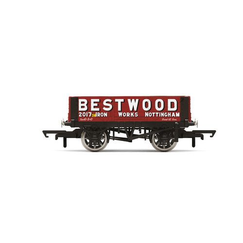 Bestwood, 4 Plank Wagon, No. 2017 - Era 2/3 - R6946 -PRE ORDER - (from 2020 range)