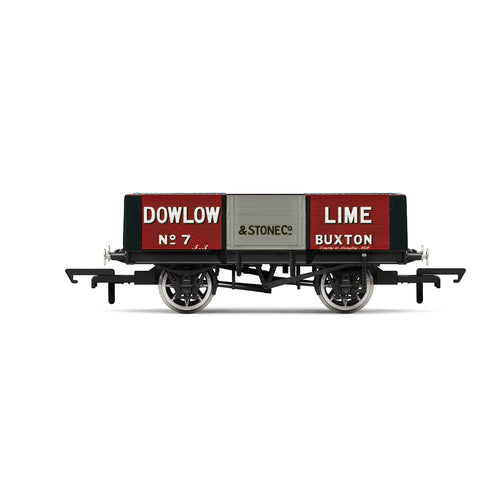 Dowlow Lime, 5 Plank Wagon, No. 7 - Era 2/3 - R6947 -PRE ORDER - (from 2020 range)