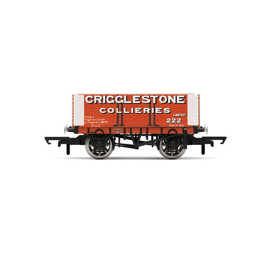 Crigglestone Collieries, 6 Plank Wagon, No. 222 - Era 2/3 - R6949 -PRE ORDER - (from 2020 range)