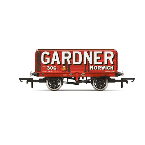 Gardner, 7 Plank Wagon, No. 306 - Era 2/3 - R6951 -PRE ORDER - (from 2020 range)