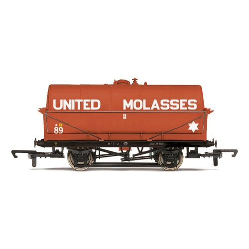 United Molasses, 20T Tank wagon, No. 89 - Era 3/4 - R6955 -PRE ORDER - (from 2020 range)