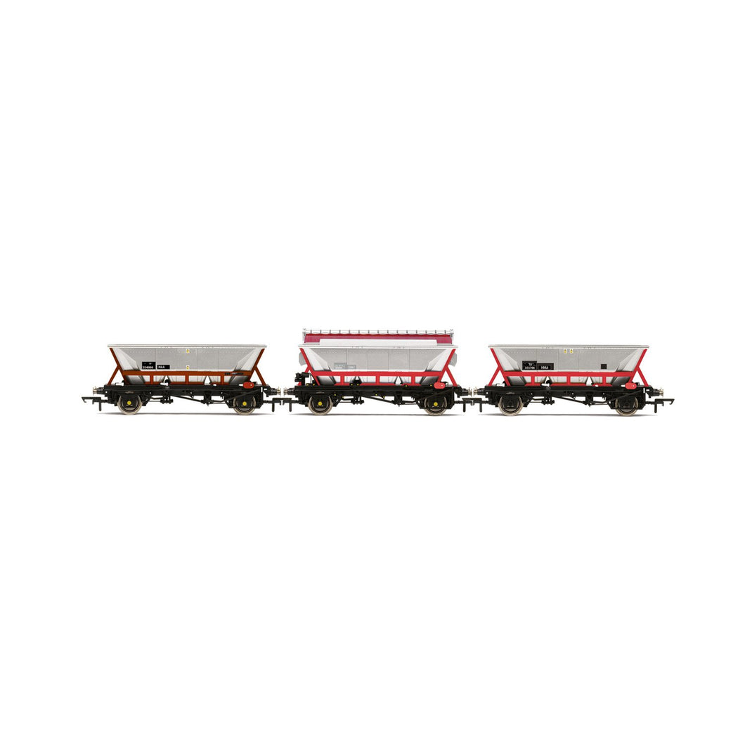 National Wagon Preservation Group, Hopper wagons, three pack - Era 11 - R6963 -PRE ORDER - (from 2020 range)