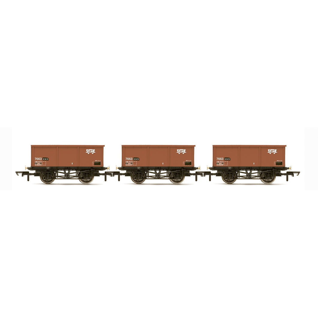 BR, 27T MSV Iron Ore Tipplers, three pack - Era 7 - R6965 -PRE ORDER Apr-20
