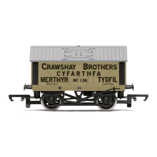 Crawshay Brothers, 8T Lime Wagon, No. 136 - Era 2/3 - R6976 -PRE ORDER - (from 2020 range)