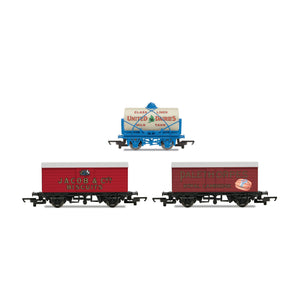Hornby 'Retro' Wagons, three pack, United Dairies Tanker, Jacob's Biscuits, Palethorpes - R6991 -PRE ORDER - (from 2020 range)