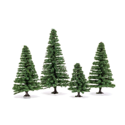Small Fir Trees  Qty 6 - R7207 -Available