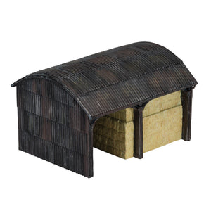 Country Farm Dutch Barn - R9851 -Available