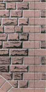 RED SANDSTONE ASHLAR WALLING