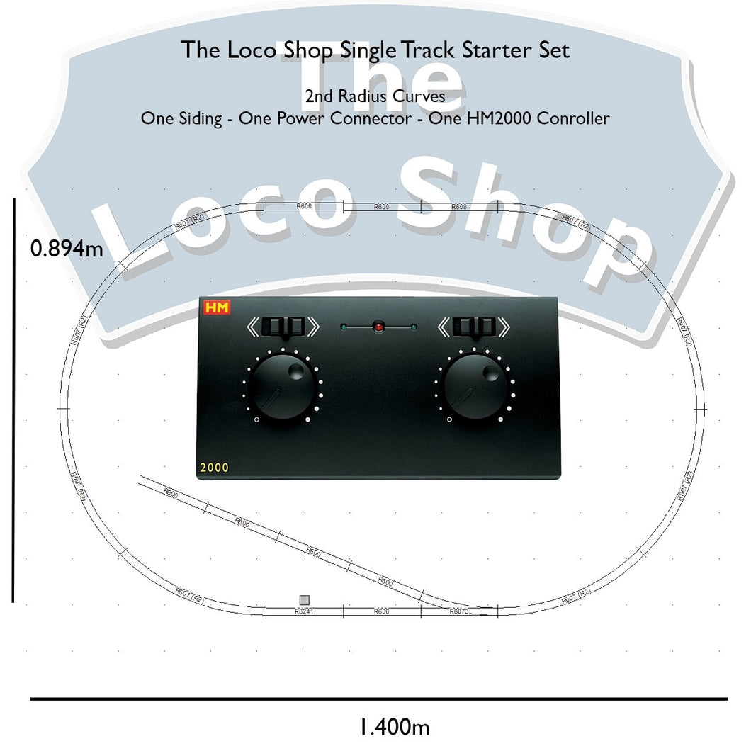 The Loco Shop - Single Radius - With HM2000 - TLS-SR-HM2000 -